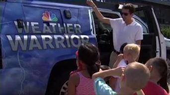 Weather Warrior Visits Snug Harbor Community School