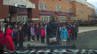 Weather Warrior Visits A.C. Whelan Elementary School