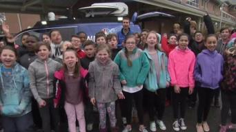 Weather Warrior Visits Captain Samuel Brown Elementary
