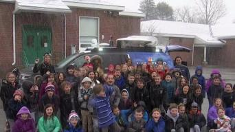 Weather Warrior Visits Joshua Eaton Elementary School