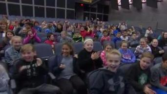 Weather Warrior Visits Rogers Middle School