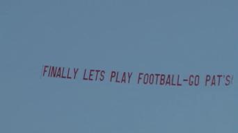 Last 'Deflategate' Banner Flies Over Maine