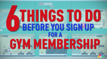 6 Things to Do Before You Sign Up for a Gym Membership