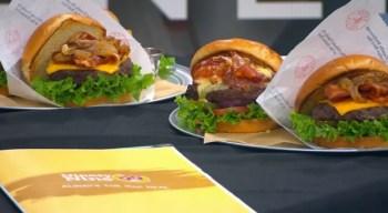 99 Restaurant & Pub Red Sox Burger