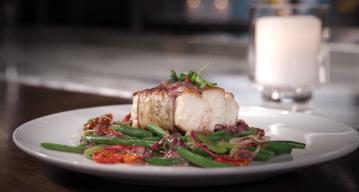 Hub Cooking Club: Eggplant Wrapped Striped Bass