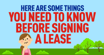 What to Know Before Signing an Apartment Lease