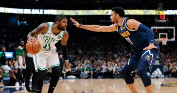 Irving Throws Ball, Vents About Murray's 'B.S.' Move