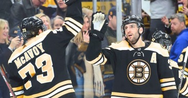Bruins Show There's No Quit in Their Game in Comeback Win