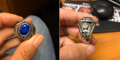 Lost US Army Ring Found in Quincy