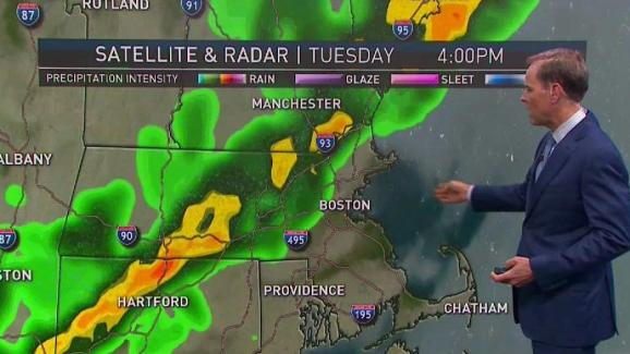 Weather Forecast Severe Storm Potential On Tuesday Nbc10 Boston