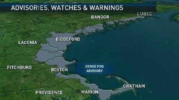 Weather Forecast Dense Fog Advisories Nbc10 Boston