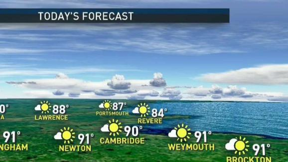 Weather Forecast: Hot and Humid to Close Out Weekend