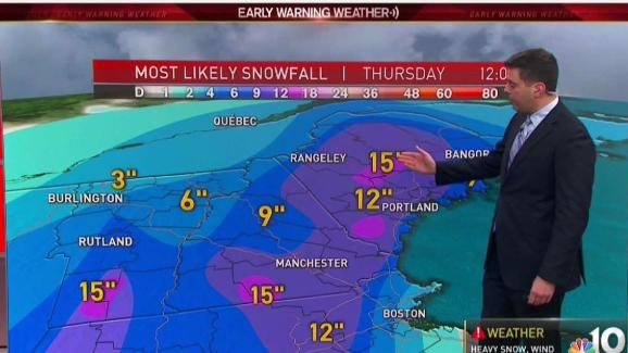 Weather Forecast Storm Bearing Down On Region Nbc10 Boston