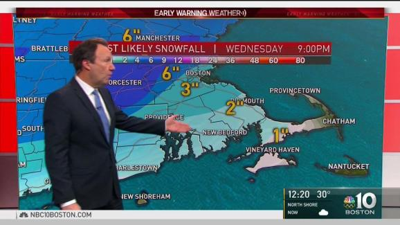 9 News Weather Map.Weather Forecast Cold And Sunny Before Snowstorm Nbc10 Boston