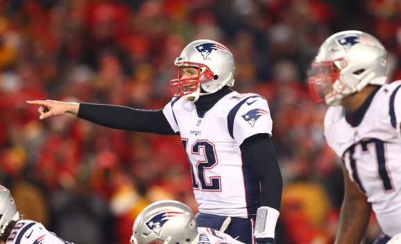 Did a Fan Shine a Laser Pointer in Tom Brady's Face During the AFC Championship Game?