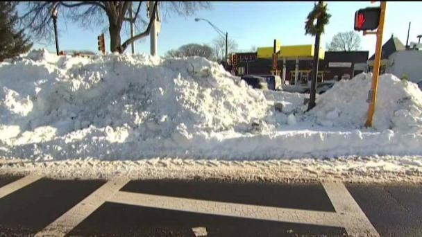 Boston Issues Snow Shoveling Citations