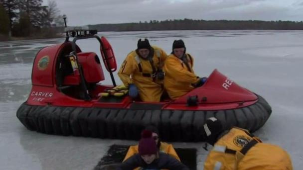 Hovercraft Deployed More Often as Nature of Storms Evolves