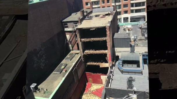 History of Complaints at Building That Partially Collapsed