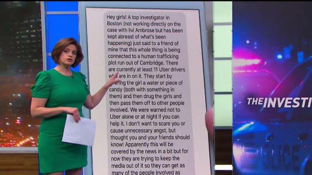 Text About Human Trafficking in Cambridge Debunked