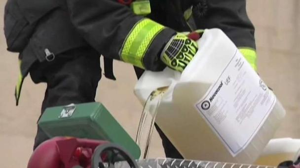 Wife of Former Firefighter Testifies About PFAS Danger