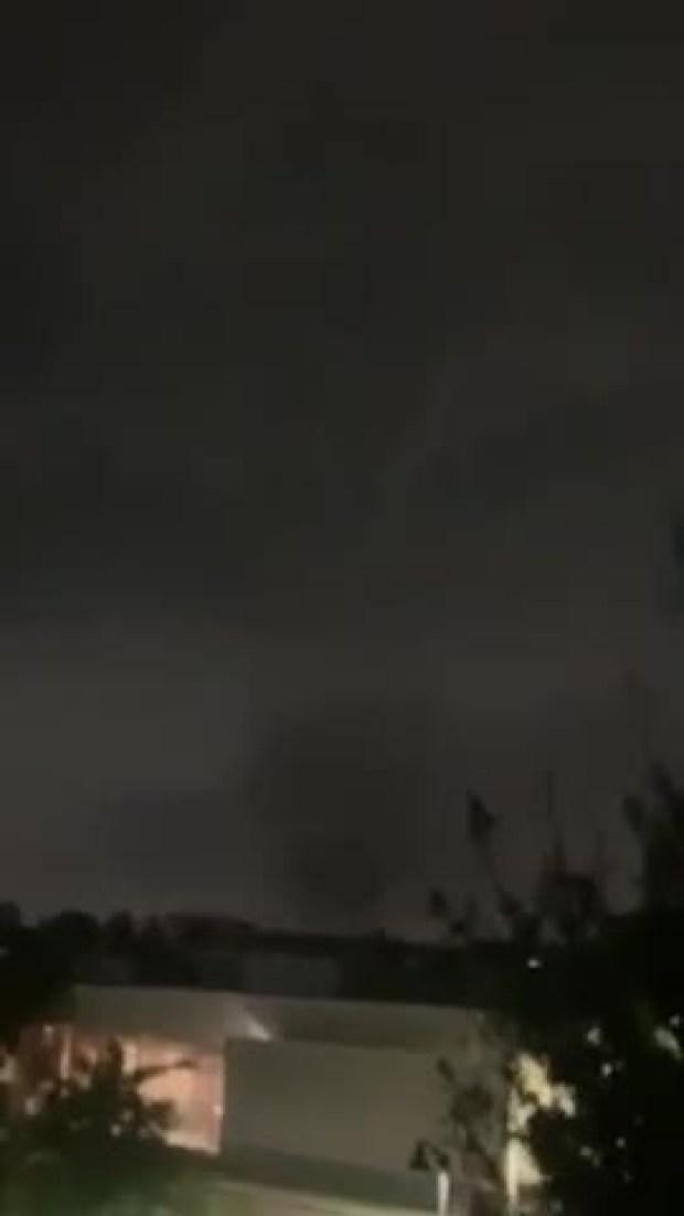 Tornado Video, Lightning and RR Bells