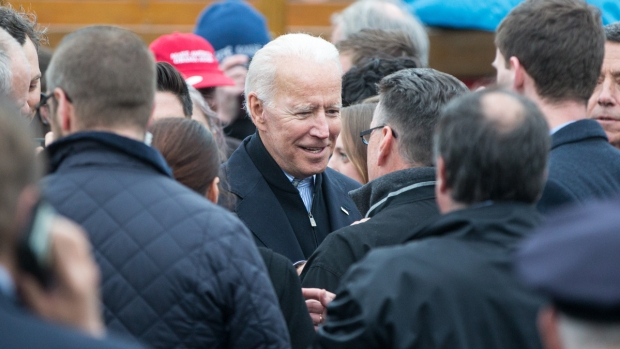 Joe Biden Talks Ideals in Presidential Run Announcement