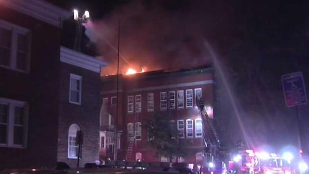 [NECN] 1 Person Killed and IEDs Found After Fitchburg Fire