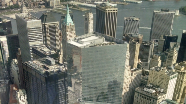 View From the Observation Deck at One World Trade