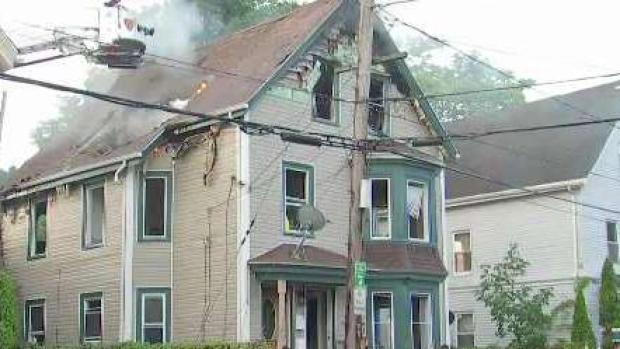 2 People Rescued By Ladder From Raging House Fire In Lynn