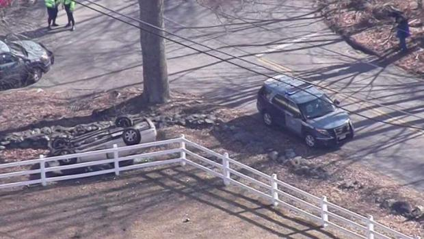 [NECN] 2 Arrested in Norton After Police Chase