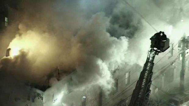 [NECN] 4-Alarm Fire Damages 2 Cambridge Buildings