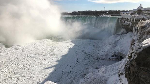 Extreme Weather Photos: Cold Snap Hits Niagara Falls