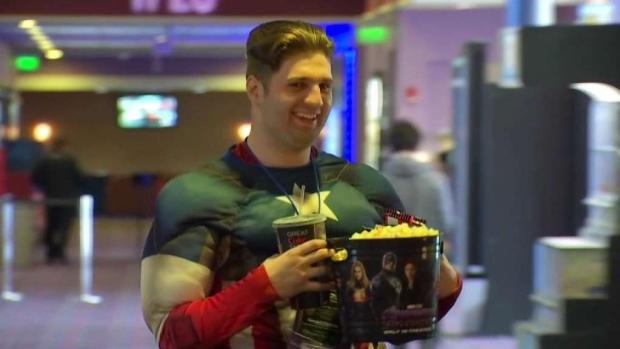 [NECN] 58-Hour Marvel Movie Marathon to End With 'Endgame'