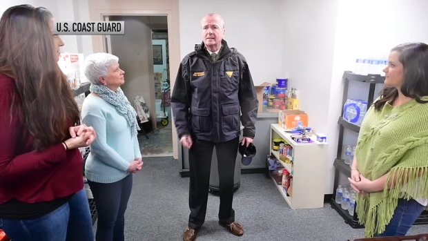 [NATL PHI] Gov. Murphy Visits Families of Coast Guard Members as Government Shutdown Continues