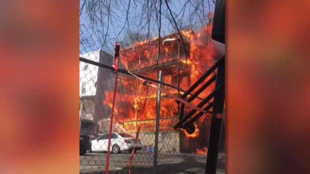 [NECN] 6-Alarm Fire Displaces at Least 15 in Chelsea