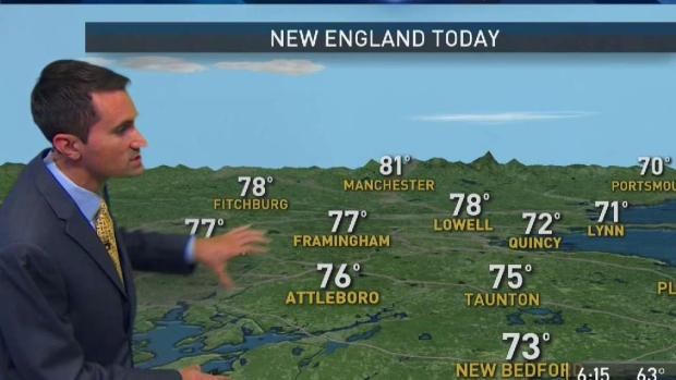 [NECN] Sunny Weather Continues