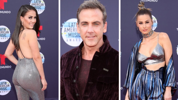 [NATL] Stars Take the Red Carpet at the Latin American Music Awards