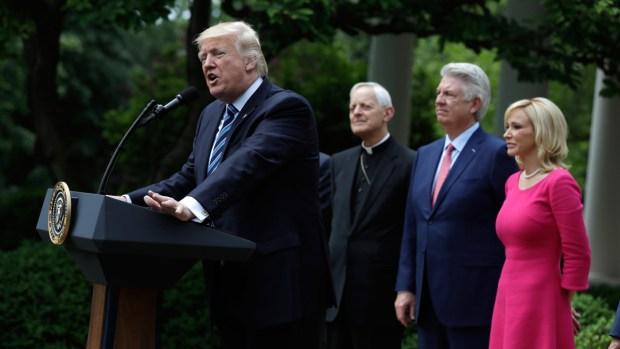 [NATL] Trump: Financial Threat Against Faith 'Is Over'