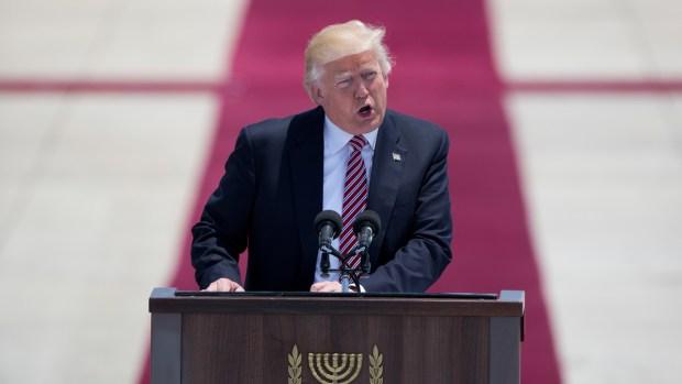 [NATL] Trump Arrives in Israel During International Trip