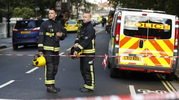 22 Hurt in London Train Bomb Blast Kirsty Wigglesworth  AP