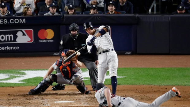 Top Sports: Aaron Judge Hits 3-Run Homer in ALCS Game 3 Win