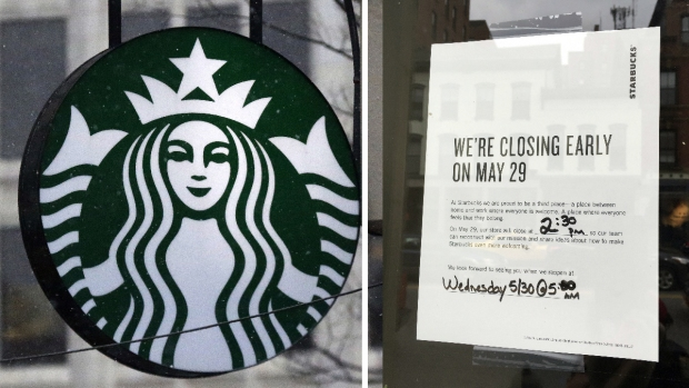 [NECN] Starbucks to Close 8,000 Locations for Anti-Bias Training