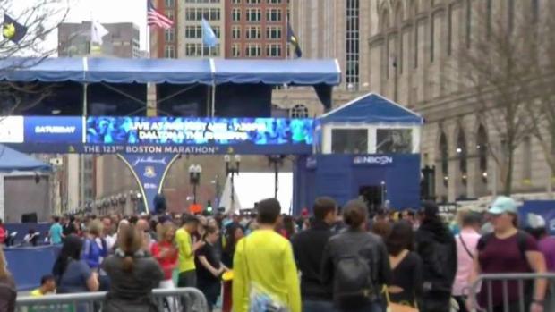 [NECN] Anticipation Builds for Boston Marathon