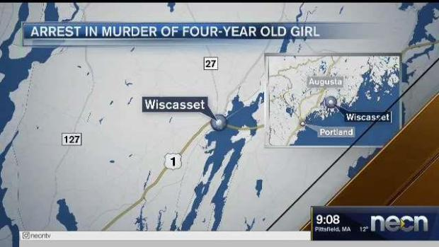 [NECN] Arrest Made in Murder of Maine 4-Year-Old