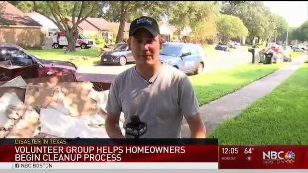 [NECN] Communities Begin Process of Rebuilding After Harvey