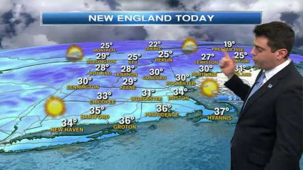 [NECN] Weather Forecast: Warming Up