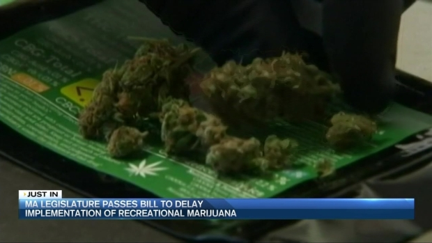 [NECN] Mass. Lawmakers Vote to Delay Pot Sales