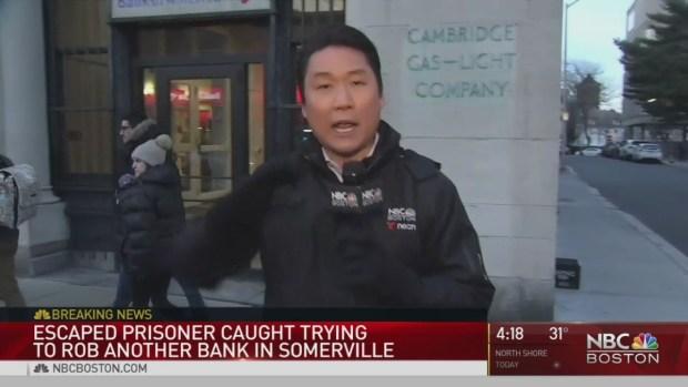 PD: Escaped RI Prisoner Tried to Rob 2 Banks