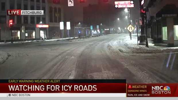[NECN] Rough Roads to Make for Tough Commute