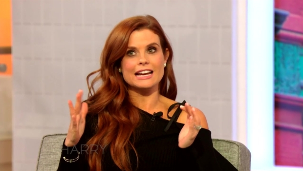 JoAnna Garcia Swisher Talks to Harry About Her Daughter